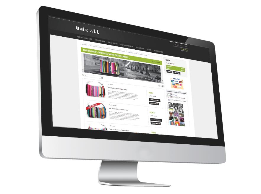 Web & E-marketing - site e-commerce - agence kreazone
