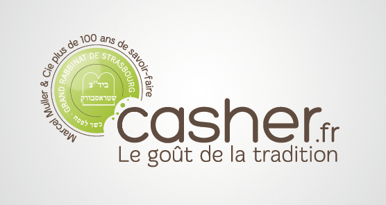 Design graphique et impression - conception du logo Casher.fr
