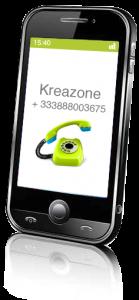 contact Kreazone de Sarreguemines à Strasbourg